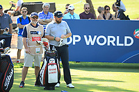 Shane Lowry (IRL) on the 13th tee during the 3rd round of the DP World Tour Championship, Jumeirah Golf Estates, Dubai, United Arab Emirates. 23/11/2019<br /> Picture: Golffile | Phil Inglis<br /> <br /> <br /> All photo usage must carry mandatory copyright credit (© Golffile | Phil Inglis)