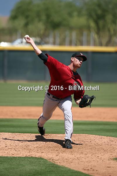Austin Mason - Arizona Diamondbacks 2016 extended spring training (Bill Mitchell)
