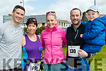 Fitness<br /> ----------<br /> L-R Jeff Quinlan, Fiona Griffin with Niamh, Ray&amp;Conor Quinlan about to take part in the Ballybunion 10k last Saturday.