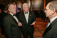 "Slug:  The American Ireland Fund.Date: .Photographer: Mark Finkenstaedt.Location: The National Building Museum. Washington DC.Caption:   The American Ireland Fund Annual Gala Dinner...Handout photo - The John Templeton Foundation - Photo by  Mark Finkenstaedt...© 2010 Mark Finkenstaedt. GRANT OF RIGHTS: In consideration of the fee, and for other good and valuable consideration, Photographer hereby grants to the John Templeton Foundation a non-exclusive, unlimited license to use, display, perform, reproduce, publish, copy, alter the color digital captures produced pursuant to this estimate (the ""Works""); provided that the John Templeton Foundation's use of the Works as permitted hereunder shall be for noncommercial purposes, only, for uses which require no model releases, and in JTF publications or by any means or media now in existence or hereafter developed (including without limitation the John Templeton Foundation's website), and for internal and archival purposes.  Photographer reserves all other rights to the Works.  If the John Templeton Foundation wishes to have any additional uses of the Works that are not provided above, Photographer and the John Templeton Foundation must agree in writing to such terms of use..Contact the photographer for additional use..202.258.2613."