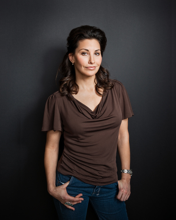Gina Gershon photographed for The Creative Coalition at Haven House in Beverly Hills, California on February 19, 2009