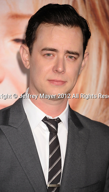 WESTWOOD, CA - DECEMBER 11: Colin Hanks arrives at the 'The Guilt Trip' - Los Angeles Premiere at Regency Village Theatre on December 11, 2012 in Westwood, California.