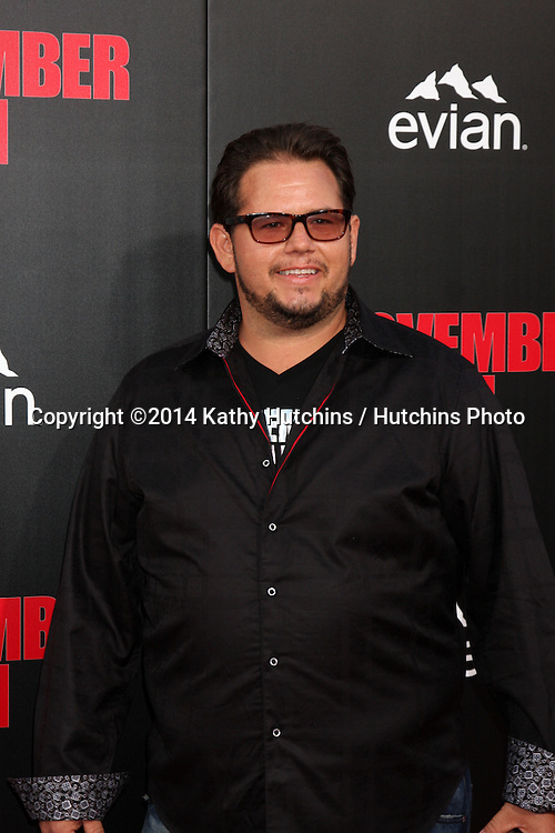 """LOS ANGELES - AUG 13:  Chad King at """"The November Man"""" Premiere at TCL Chinese Theater on August 13, 2014 in Los Angeles, CA"""