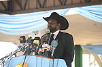 Salva Kiir, president, South Sudan