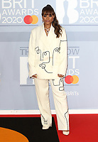 40th Brit Awards Red Carpet arrivals, The O2 Arena, London on February 1th 2020<br /> <br /> Photo by Keith Mayhew