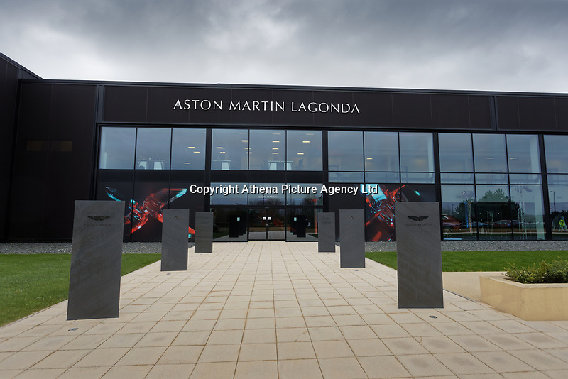Pictured: The Aston Martin Lagonda factory. Friday 21 February 2020<br /> Re: HRH Prince Charles visits the Aston Martin Lagonda factory in St Athan, south Wales, UK.