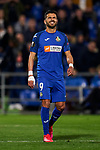 Angel Rodriguez of Getafe FC during UEFA Europa League match between Getafe CF and AFC Ajax at Coliseum Alfonso Perez in Getafe, Spain. February 20, 2020. (ALTERPHOTOS/A. Perez Meca)