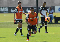 SÃO PAULO,SP, 09.09.2013 TREINO/CORINTHIANS/SP - Zizao  durante treino do Corinthians no CT Joaquim Grava na zona leste de Sao Paulo. (Foto: Alan Morici /Brazil Photo Press).