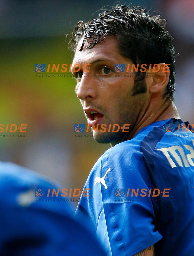 Kaiserslautern 26/6/2006 World Cup 2006 Ottavi di finale Italia Australia 1-0.Photo Andrea Staccioli Insidefoto.Marco Materazzi Italia