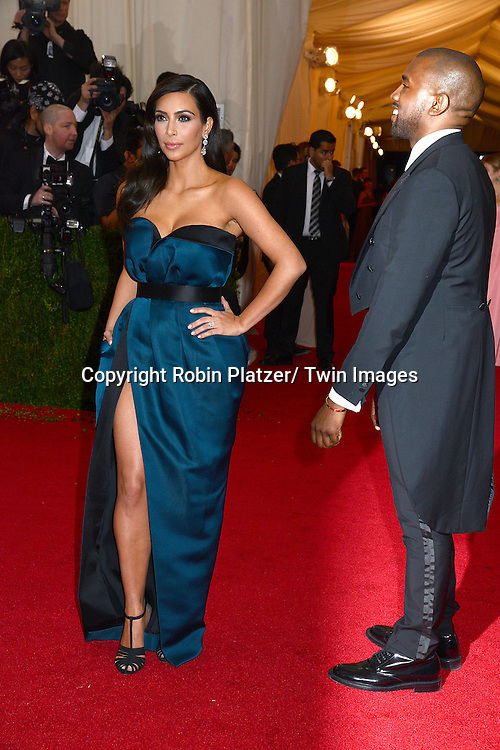 Kim Kardashian  attends the Costume Institute Benefit on May 5, 2014 at the Metropolitan Museum of Art in New York City, NY, USA. The gala celebrated the opening of Charles James: Beyond Fashion and the new Anna Wintour Costume Center.
