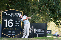 Haydn Porteous (RSA) in action on the 16th hole during the second round of the 76 Open D'Italia, Olgiata Golf Club, Rome, Rome, Italy. 11/10/19.<br /> Picture Stefano Di Maria / Golffile.ie<br /> <br /> All photo usage must carry mandatory copyright credit (© Golffile | Stefano Di Maria)