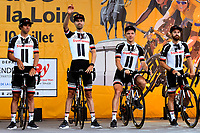 La Roche-sur-Yon place, France - July 5 : Team Sunweb (ALL) during the official team presentation prior the 105th edition of the 2018 Tour de France cycling race on July 5, 2018 in La Roche-sur-Yon place, France, 5/07/2018  <br /> Ciclismo Tour De France 2018 <br /> Foto Photonews / Panoramic / Insidefoto <br /> ITALY ONLY
