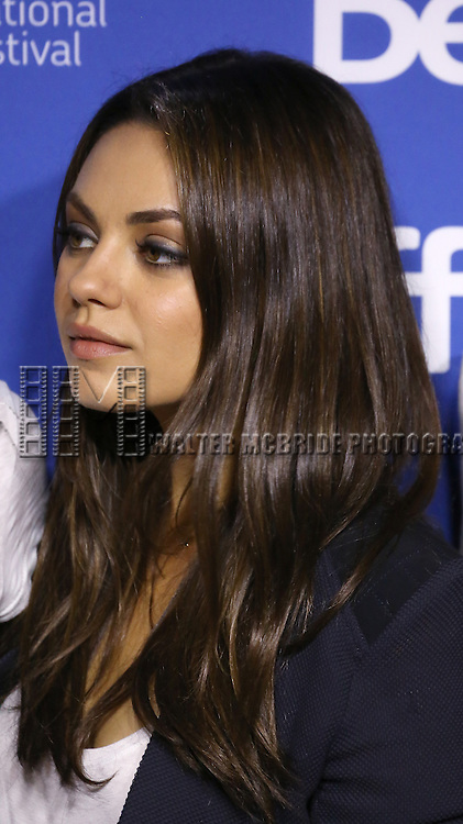 "Mila Kunis attending the 2013 Tiff Film Festival Photo Call for ""Third Person""  at the Tiff Bell Lightbox on September 10, 2013 in Toronto, Canada."