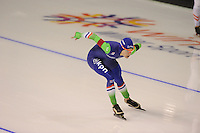 SPEEDSKATING: CALGARY: 14-11-2015, Olympic Oval, ISU World Cup, 1000m, Marrit Leenstra (NED), ©foto Martin de Jong