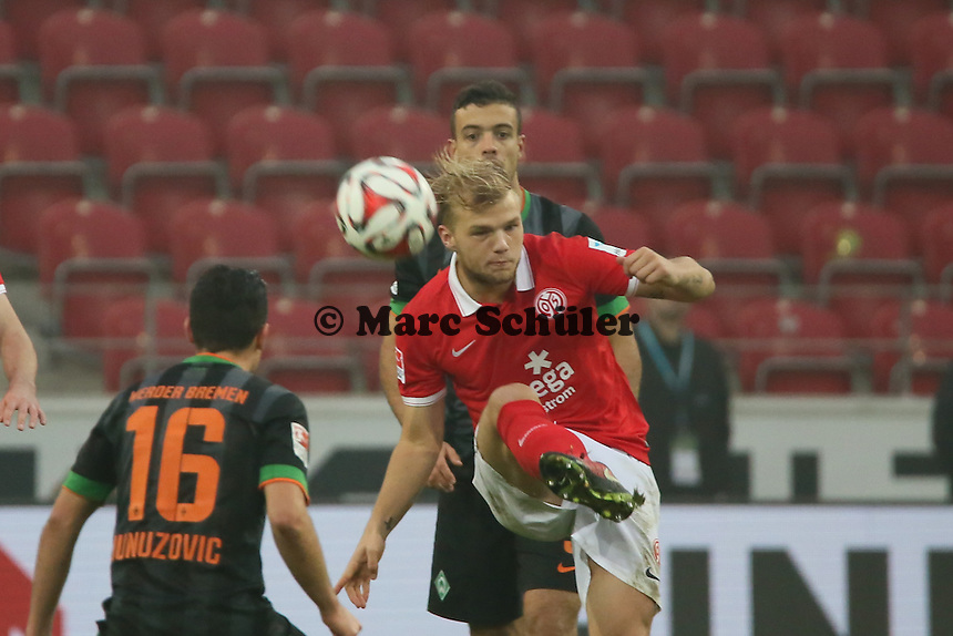 Johannes Geis (Mainz) - 1. FSV Mainz 05 vs. SV Werder Bremenl, Coface Arena