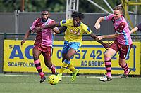 Chidubem Onokwai of Haringey during Haringey Borough vs Corinthian Casuals, BetVictor League Premier Division Football at Coles Park Stadium on 10th August 2019