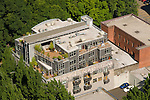 Aerial of the Flanders Street Lofts, Portland, Oregon