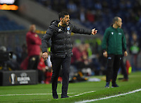 27th February 2020; Dragao Stadium, Porto, Portugal; UEFA Europa League  FC Porto versus Bayer Leverkusen; FC Porto manager Sergio Conceicao gets animated and asks for more effort