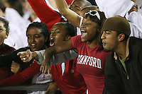 4 November 2006: Fans during Stanford's 42-0 loss to USC at Stanford Stadium in Stanford, CA.