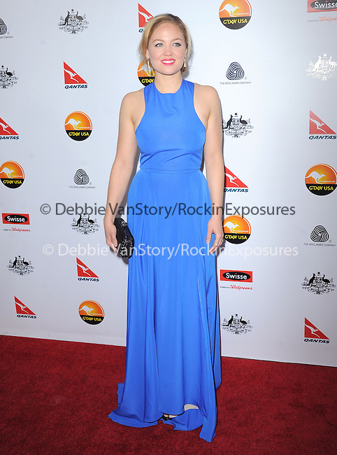 Erika Christensen at The G'Day USA Black Tie Gala held at The JW Marriot at LA Live in Los Angeles, California on January 12,2013                                                                   Copyright 2013 Hollywood Press Agency