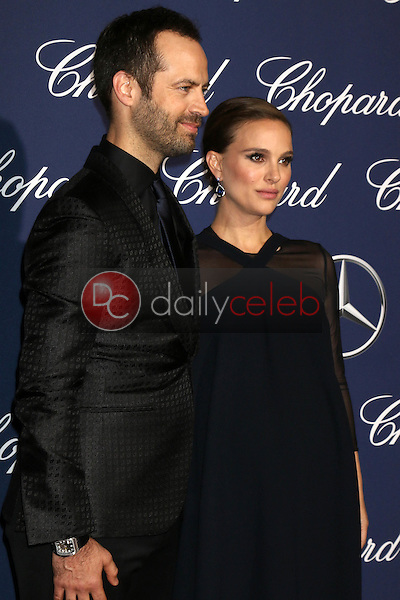 Natalie Portman, Benjamin Millepied<br /> at the 2017 Palm Springs International Film Festival Gala, Palm Springs Convention Center, Palm Springs, CA 12-02-17<br /> David Edwards/DailyCeleb.com 818-249-4998