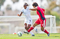 Carson, California - Thursday April 12, 2012: USA Women's National Team U-20 vs. China Friendly match on Glenn 'Mooch' Myernick field.