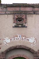 town gate kientzheim alsace france