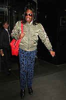 NEW YORK, NY - APRIL 19:  Verdine White, member of the legendary  R&amp;B band Earth Wind and Fire spotted leaving in hotel in  in New York, New York on April 19 , 2017.  <br /> CAP/MPI/RMP<br /> &copy;RMP/MPI/Capital Pictures