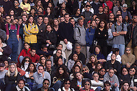 University of California, Santa Barbara students listen as those effected by the tragic death of four youths memorialized those killed over the weekend with an open mike on campus followed by a candlelight procession to the sight in Isla Vista where the crash occurred. Killed in the crash were Nicholas Shaw Bourdakis and Christopher Edward Divis, both 20 and UCSB students Ruth Dasha Golda Levy, 20 (12-14-80), a Santan Barbara City College student and Elie Israel, 27, (7-12-73) of San Francisco. Levy s older brother, Albert Arthur Levy, 27, remained in critical condition after undergoing multiple surgeries.   David Edward Attias was arrested Friday 2/23 on suspicion of vehicular manslaughter and felony drunken driving after allegedly a speeding down a quiet street killing four people. A fifth person suffered serious injuries late Friday night during the incident in the small community of Isla Vista in suburban Santa Barbara.