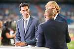 Real Madrid's Alvaro Arbeloa during XXXVIII Santiago Bernabeu Trophy at Santiago Bernabeu Stadium in Madrid, Spain August 23, 2017. (ALTERPHOTOS/Borja B.Hojas)