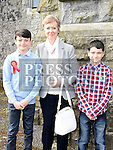 Alan Foley who was confirmed at the Church of the Immaculate Conception Termonfeckin with his brother Liam and grandmother Catherine Flynn. Photo:Colin Bell/pressphotos.ie