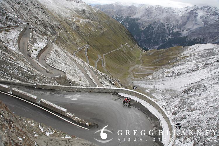 Cycling Stelvio Pass - Italy