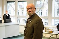2016/02/10 Berlin | Karl-Heinz Hoffmann klagt gegen Überwachung