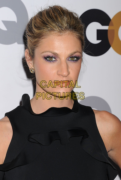 Erin Andrews.Arriving at the GQ Men Of The Year Party at Chateau Marmont Hotel in Los Angeles, California, USA..November 13th, 2012.headshot portrait black sleeveless eyeliner make-up.CAP/ROT/TM.©Tony Michaels/Roth Stock/Capital Pictures
