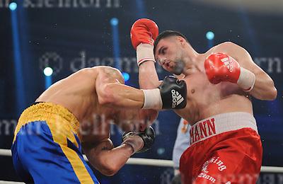 October 01-16,Jahnsportforum,Neubrandenburg, Mecklenburg-Vorpommern,Germany<br /> CruiserweightArtur Mann vs Paul Drago