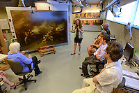 Conservation Tour and Discussion. Yale Center for British Art Undergraduate Open House '12