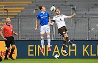v.l. Tim Skarke (SV Darmstadt 98), Rico Benatelli (FC St. Pauli) - 23.05.2020: Fussball 2. Bundesliga, Saison 19/20, Spieltag 27, SV Darmstadt 98 - FC St. Pauli, emonline, emspor, v.l. Stadionansicht Innenraum, Rasen Uebersicht vor dem Spiel<br /> <br /> <br /> Foto: Florian Ulrich/Jan Huebner/Pool VIA Marc Schüler/Sportpics.de<br /> Nur für journalistische Zwecke. Only for editorial use. (DFL/DFB REGULATIONS PROHIBIT ANY USE OF PHOTOGRAPHS as IMAGE SEQUENCES and/or QUASI-VIDEO)