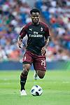A.C. Milan Carlos Bacca during Santiago Bernabeu Trophy match at Santiago Bernabeu Stadium in Madrid, Spain. August 11, 2018. (ALTERPHOTOS/Borja B.Hojas)