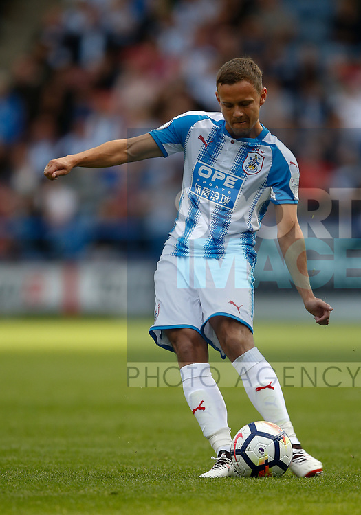 Chris Lowe of Huddersfield Town during the pre season friendly at the John Smith's Stadium, Huddersfield. Picture date: July 26th 2017. Picture credit should read: Simon Bellis/Sportimage