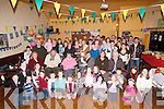 70TH: On Sunday at the Austin Stacks GAA Club, Tralee, a surprise 70th Birthday party was held for Mary O'Shea, Tralee (seated third from left) by her family and friends..
