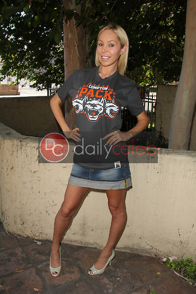 Mary Carey<br /> at the Private LA Football League Summer Kickoff Suite featuring LA Football League T-Shirts, Private Location, Los Angeles, CA 06-18-14<br /> David Edwards/Dailyceleb.com 818-249-4998