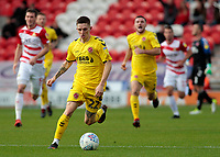 Fleetwood Town's Ashley Hunter in action<br /> <br /> Photographer David Shipman/CameraSport<br /> <br /> The EFL Sky Bet League One - Doncaster Rovers v Fleetwood Town - Saturday 6th October 2018 - Keepmoat Stadium - Doncaster<br /> <br /> World Copyright © 2018 CameraSport. All rights reserved. 43 Linden Ave. Countesthorpe. Leicester. England. LE8 5PG - Tel: +44 (0) 116 277 4147 - admin@camerasport.com - www.camerasport.com