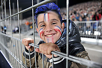 Picture by Simon Wilkinson/SWpix.com - 01/11/2013 - Rugby League - Rugby League World Cup - New Zealand v France - Parc des Sports, Avignon, France - fan supporter Rugby League World Cup 2013 re edited 11/10/2017 Best Of