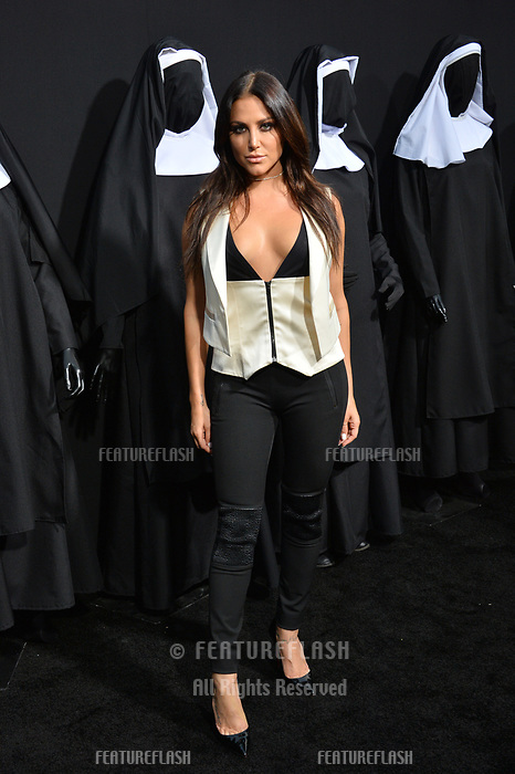 "LOS ANGELES, CA. September 04, 2018: Cassie Scerbo at the world premiere of ""The Nun"" at the TCL Chinese Theatre, Hollywood."