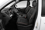 Front seat view of 2019 Dodge Grand-Caravan GT 5 Door Minivan Front Seat  car photos