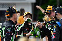 IMSA WeatherTech SportsCar Championship<br /> Continental Tire Road Race Showcase<br /> Road America, Elkhart Lake, WI USA<br /> Sunday 6 August 2017<br /> 22, Nissan DPi, P, Johannes van Overbeek, Luis Felipe Derani, 2, Nissan DPi, P, Scott Sharp, Ryan Dalziel, 10, Cadillac DPi, P, Ricky Taylor, Jordan Taylor<br /> World Copyright: Richard Dole<br /> LAT Images<br /> ref: Digital Image RD_RA_2017_167