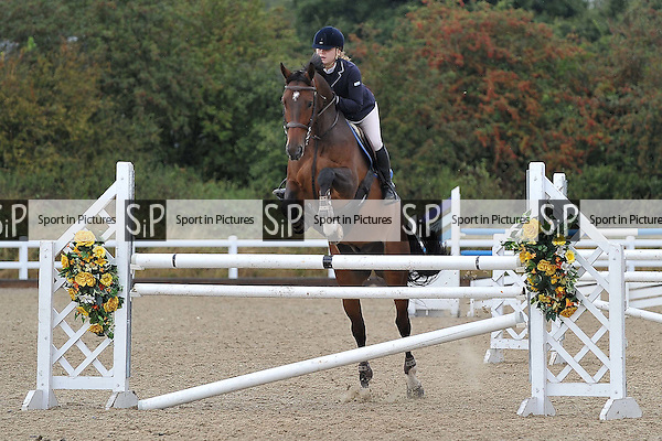 Class 5. British Showjumping Seniors – CAT 2 Inc Watson and Co. Extravaganza. Brook Farm Training Centre. Essex. 16/09/2016. MANDATORY Credit Melody Fisher/Sportinpictures - NO UNAUTHORISED USE - 07837 394578