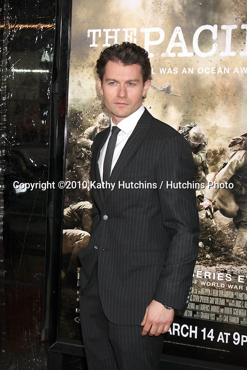 """James Badge Dale.arriving at HBO's """"The Pacific"""" Premiere Screening .Mann's Chinese Theater.Los Angeles, CA.February 24, 2010.©2010 Kathy Hutchins / Hutchins Photo...."""