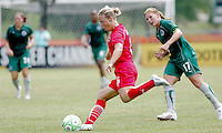Lori Lindsey..Saint Louis Athletica were defeated 1-0 by Washington Freedom at Anheuser-Busch Soccer Park in Fenton, Missouri.