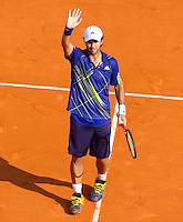 Fernando VERDASCO (ESP) against Novak DJOKOVIC (SRB) in the semi-finals. Fernando Verdasco beat Novak Djokovic 6-2 6-2..International Tennis - 2010 ATP World Tour - Masters 1000 - Monte-Carlo Rolex Masters - Monte-Carlo Country Club - Alpes-Maritimes - France..© AMN Images, Barry House, 20-22 Worple Road, London, SW19 4DH.Tel -  + 44 20 8947 0100.Fax - + 44 20 8947 0117